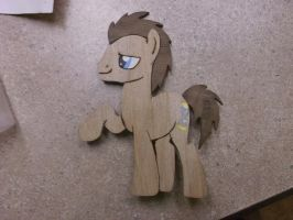 Doctor Whooves (10th Doctor) Pin by horse14t