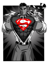 Superman by kudoze