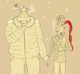 Hold hands by ModounBubble