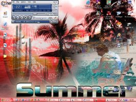 _Summer Desktop_ by evilgal