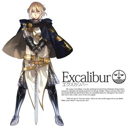 Seiken Ranbu: Excalibur by Cioccolatodorima
