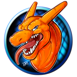 Just a Charizard doodle by DRubens