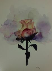WATERCOLOR ROSE by NEPHTHYS91