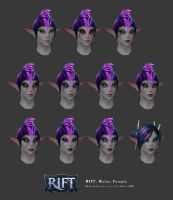 Rift: Kelari Female Head Customisation by HazardousArts