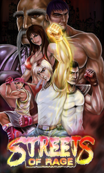 Street of rage by BlackExcell