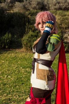 Lightning Final Fantasy XIII by DirckDemon
