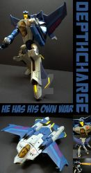 TFA Beast Wars Depthcharge by Gizmo-Tracer