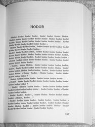 Hodor by CircusMonsters