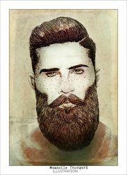 Man and beard