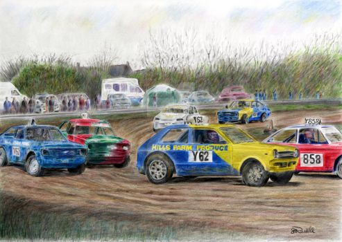 Stock Cars 2 by SRussellart