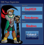 Cool69110 TOME Player Registration by BillyBCreationz