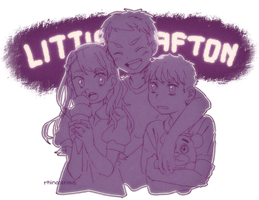 The Little Aftons. by rhinocerious
