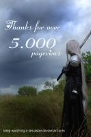 thanks for over 5000 by S-Lancaster