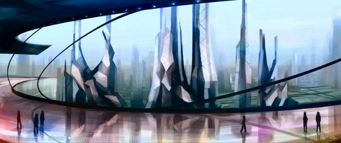 Xegity: Core City by IonfluxDA