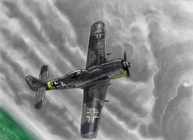 FW 190 A - Rainy Day by grievous15