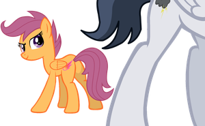 I'm right behind you Rumble by DreamCasterPegasus