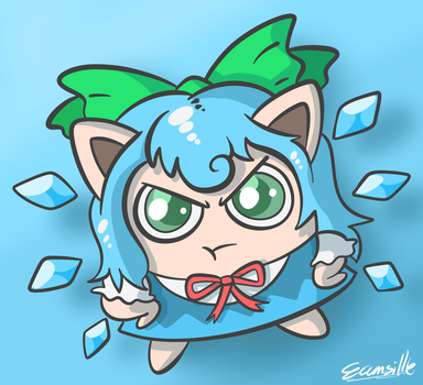 Jigglycirno by ecumsille