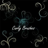 Curly Brushes by KrisPS