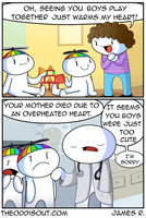 Heart Warming by theodd1soutcomic