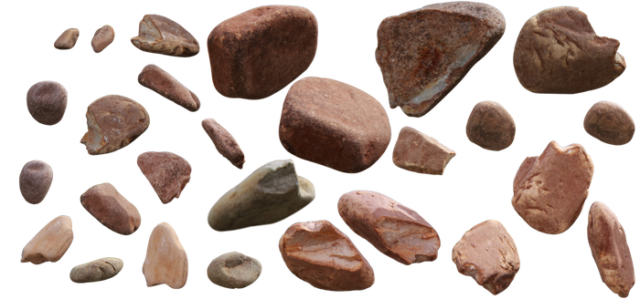Rocks Boulders Free Stock Photo [Transparent PNG] by firecloak