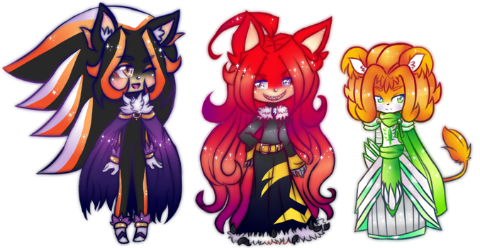 Kawaii Page Dolls (by Diantea) by Shadatanish-Divine