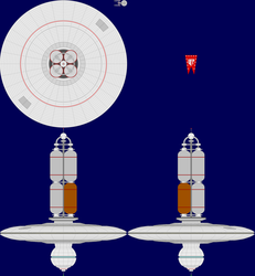 Type D Space Station Multi-View by captshade