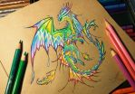 Tropical forest dragon by AlviaAlcedo