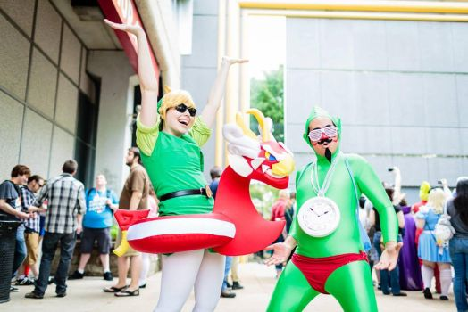 ACen '13: Link and Tingle's Kooloo-Limpah Vacation by matchahime