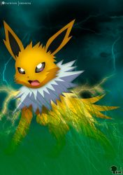 Jolteon - The Spirit of Sparks by EdoNovaIllustrator