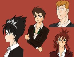 Yu Yu Hakusho red back by camila-bunny