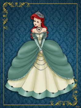Queen Ariel - Disney Queen designer collection by GFantasy92