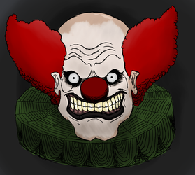 Scary Clown. Steam Pic by NakedGrizzlyBear