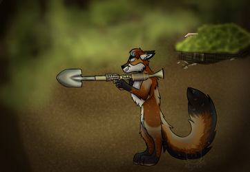 Shovel Launcher!! by rayne170