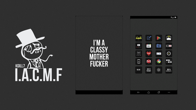 I.A.C.M.F by kgill77