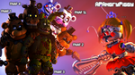Freakshow Baby Vs All FNaF Games! [4K] by APAngryPiggy