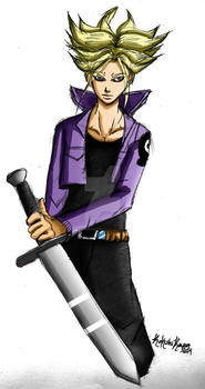 Future Trunks by RoK-the-Reaper
