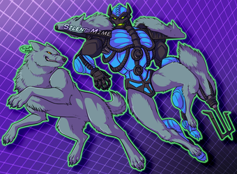 Beast Wars: Wolfang by Silent-Mime