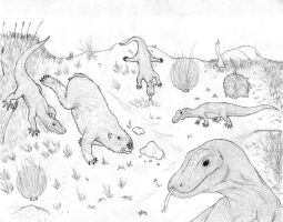 The Gathering of Scavengers uncolored by triggamafia