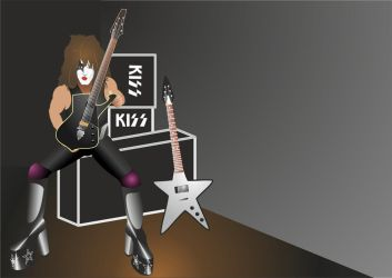 January (Paul Stanley) by Apkx