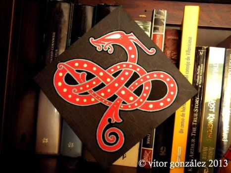 Urnes Dragon by twistedstrokes