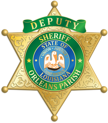 Orleans Parish Sheriff Badge by tempest790