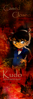 Cased Closed Shinichi Kudo T-Based Edit by SeoulSweetheart