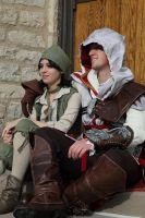 Ezio and Rosa by Forcebewitya