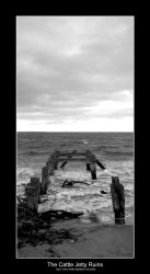 The Cattle Jetty Ruins by steampoweredk9