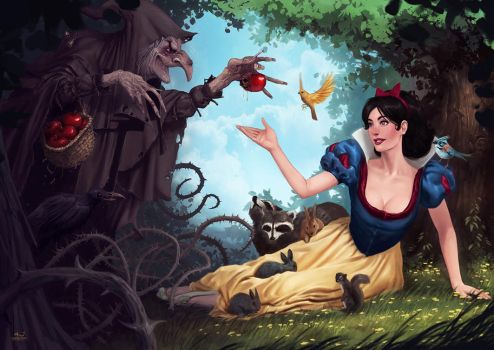 Snow White by DarioJart