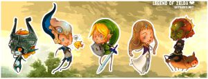 ZELDAstickers by ShyCustis