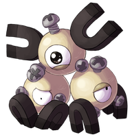Type Collab: Steel - Shiny Magneton