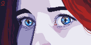 Pixel Dailies #Eyes by randomhuman