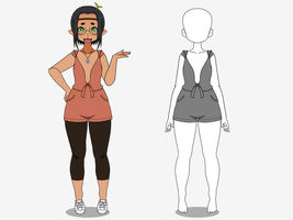 Sprout Romper: EXPORTS by CAPTAIN-SPROUT