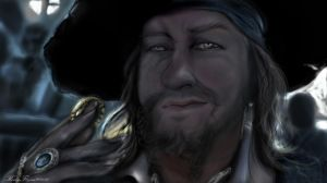 Hector Barbossa Rembrandtstyle 2 by KomyFly
